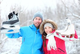 Ice skating for the first time? Tips to keep you on your feet