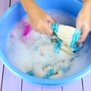 Tips for removing stains from washable fabrics