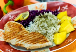 2 healthy dishes with juicy turkey