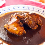 Savoury sauce recipe: turkey mole