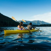 The basics of learning to paddle a kayak or canoe
