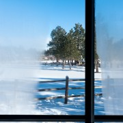 Caring for window frames with home remedies