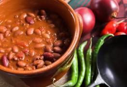Chili à la dindelégeret épicé