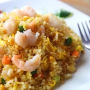 Recette de riz frit thaïlandais aux crevettes