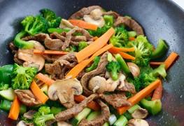Recette aux super aliments: steak à la diable aux poivrons