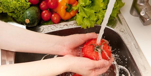 Des aliments sans produits chimiques