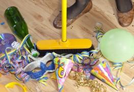 4 conseilspour nettoyer après lesfêtes