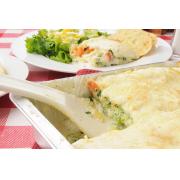 Lasagne santéaux légumes et trois fromages