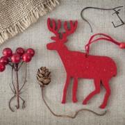 Des idées « givrées » pour vos ornements de Noël en tissu