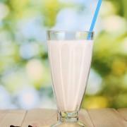 Recette de lait frappé végétalien à la vanille