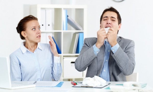 Comment éviter la propagation du rhume au travail?