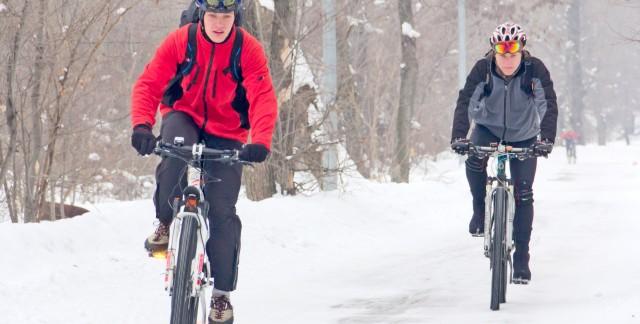 L'hiver à vélo? Oui, avec de bons pneus!