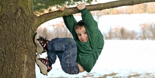 Jeux pour enfants: Comment grimper à un arbre et construireun cerf-volant enpapier