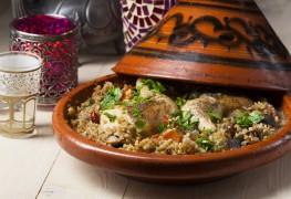 Recette de cuisses de poulet à la marocaine et légumes
