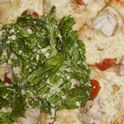 Recette de pizza au mesclun