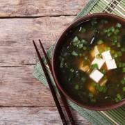 Recette de soupe miso au tofu