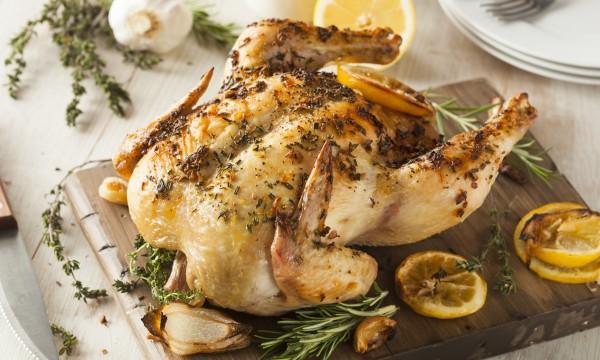 Essayez cette savoureuse de poulet à l'ail