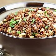 2 recettes à base de légumes et de céréales complètes