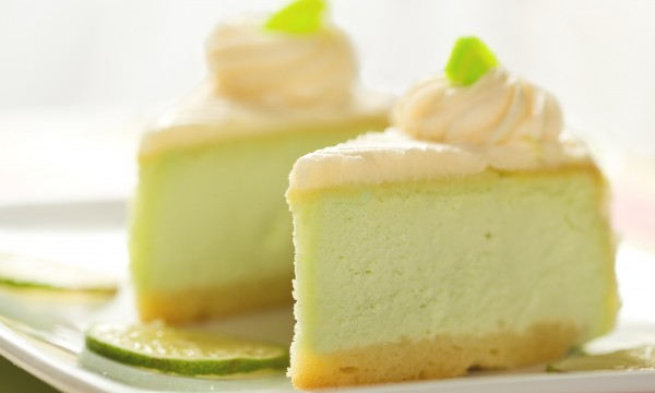 Dessert pour les gens au régime: gâteau aux kiwis et au