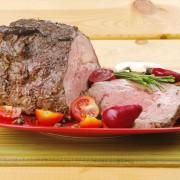 Rôti de porc et rôti de bœuf: 2 recettes santé