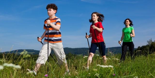 8 façonsingénieuses de demeurer actifs en famille