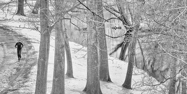 Comment continuer à courir en hiver sur la glace et dans la neige