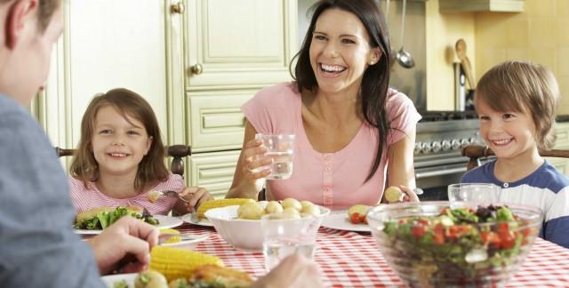 Comment votre famille peut vous aider à garder une alimentation saine