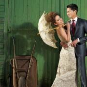 Les couleurs de robes de mariées non conventionnelles (mais absolument superbes)