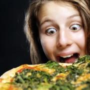La pizza aux épinards: faire le plein de fer