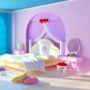 4 façons de créer une chambre de princesse pour votre petite fille