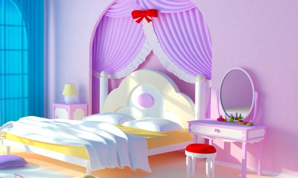 4 faons de crer une chambre de princesse pour votre petite fille - Chambre De Princesse Pour Petite Fille