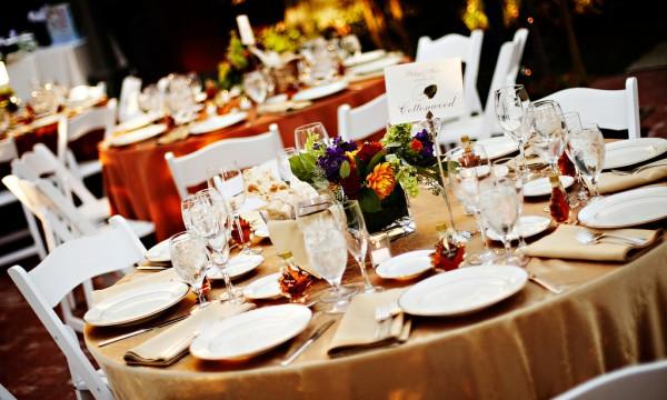 Astuces de d corations de table pour embellir votre r ception de mariage tr - Decoration pour reception ...