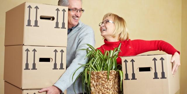 Comment faciliter un déménagement pendant la retraite ?