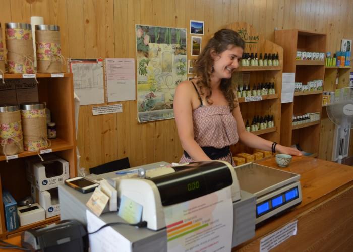 Ce qui nourrit Sarah, ce sont les sourires de satisfaction de ses clients.