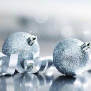 Argent et blanc: les plus belles couleurs déco de Noël