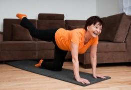 5 étirements pour les hanches et les genoux si vous souffrez de l'arthrite