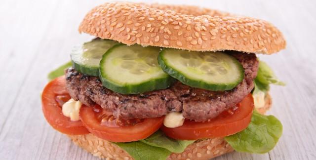 Recette originale de bagel-burger