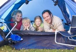 Le camping avec des enfants
