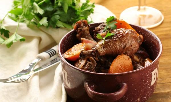 Coq une soupe de leekie recettes