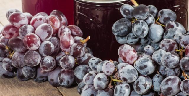 Gelée de raisin maison