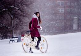 Bravez l'hiver en vélo à Calgary