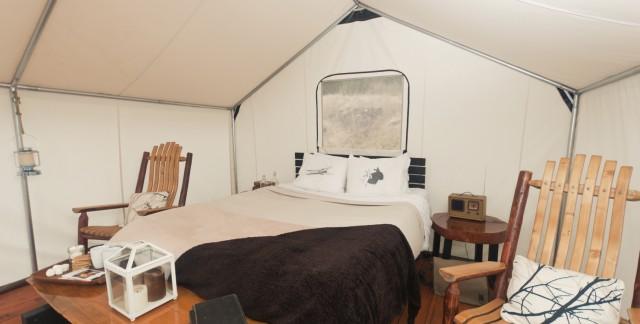 Glamping: découvrez 12 façons de décorer votre tente