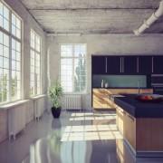 Modernisez votre cuisine avec des comptoirs de béton