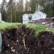 Le remplacement des canalisations d'égout