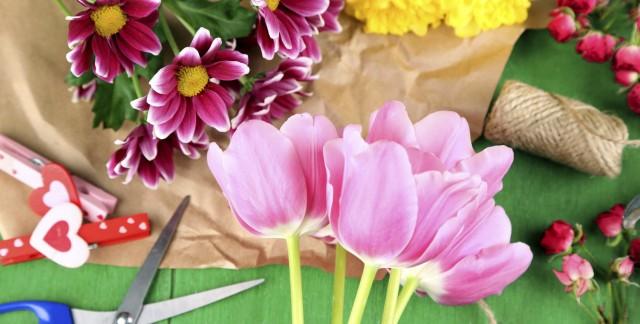 À la recherche de matériel d'art floral