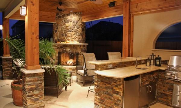4 faons de transformer votre terrasse en cuisine extrieure - Comment Construire Une Cuisine Exterieure