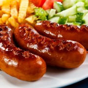 Saucisse déjeuner au porc fait maison
