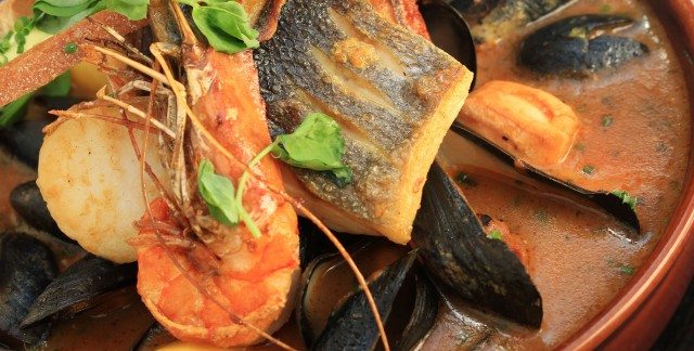 Crevettes à la provençale