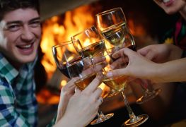 Restaurants with fireplaces in Calgary