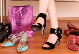 Points of reference for shoes